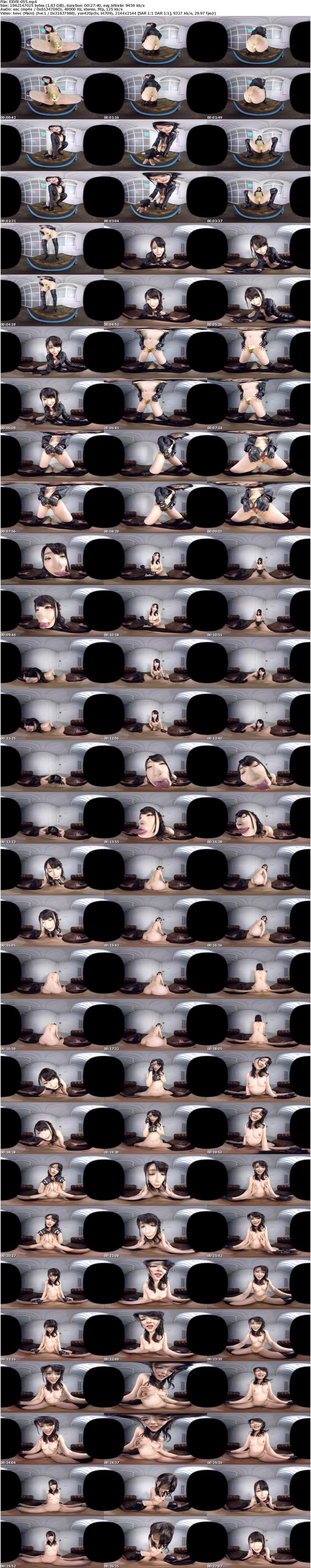 VR/3D EXVR-055 【VR】男を虜にする腰使いハンパないSEX 波木はるか