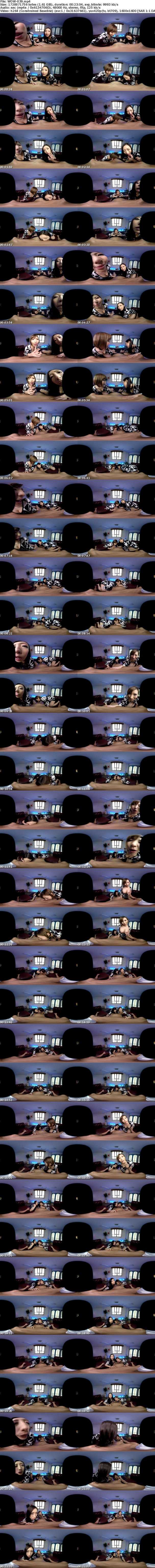 VR/3D WOW-039 【VR】蛇舌女の超絶Wフェラ