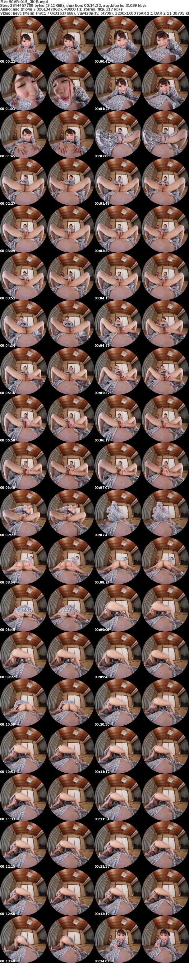 VR/3D KVR1811-10 (SCVR-015) 【匠】温泉で勃起見せつけ!!欲求不満な爆乳人妻が勃起ち●ぽに欲情してそのまま風呂場で声我慢セックス!!その後、部屋を訪れてきて、濃厚濃密連続中出し!!