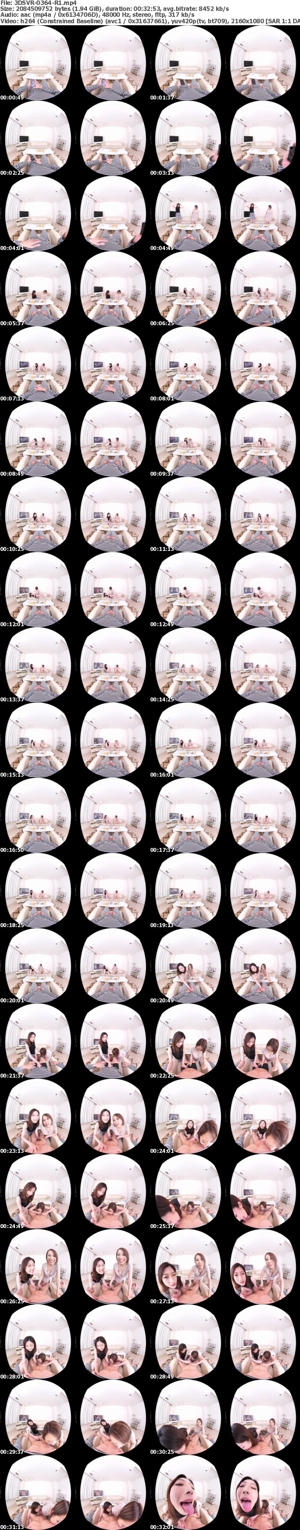 VR/3D 3DSVR-0364 【超高画質版】終電を逃した酔っ払いの女友達がボクの家で女子会の二次会!普段は全く男扱いしないくせに泥酔した彼女たちはボクのデカチンに目をつけて性欲のままハメまくる3P天国!