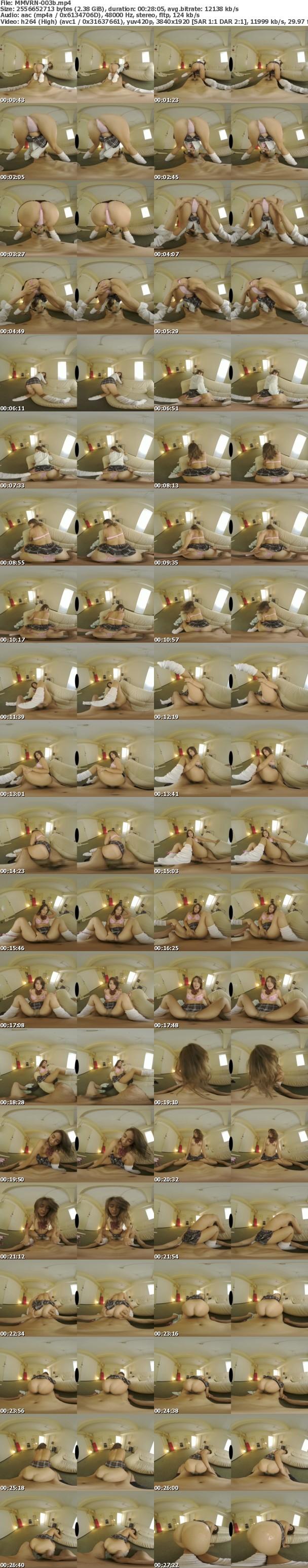 VR/3D MMVRN-003 ミニスカ黒尻ギャルVR6K撮影+ゼロ距離視点移動+完全自由主観移動で最高のデカ尻黒ギャルと汗ダクで濃厚SEXヤリ放題できるVR 上原花恋