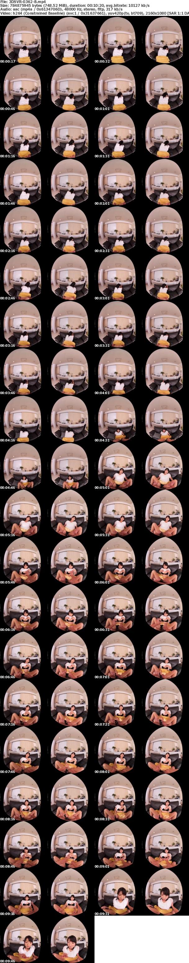VR/3D 3DSVR-0362 【超高画質版】山口菜穂 38歳 VR 第2章どこにでもいる普通のママがやっぱり1番エロい。旦那の居ぬ間に自宅で逢瀬。本物人妻に寝取り中出し!