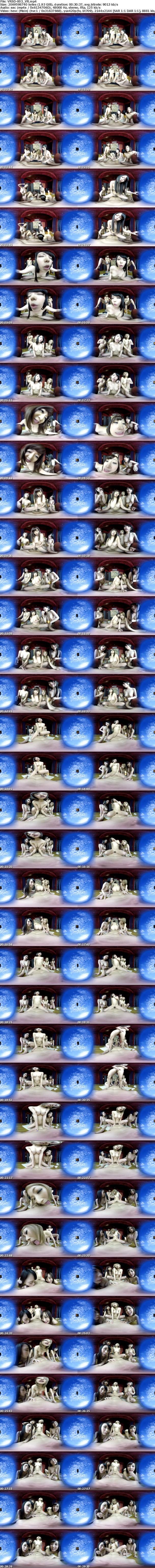 VR/3D VRSD-003 【VR】男のロマン!夢のハーレム乱交!!4人の美女と交わるSEX!! きみと歩実 北川エリカ KAORI 川菜美鈴