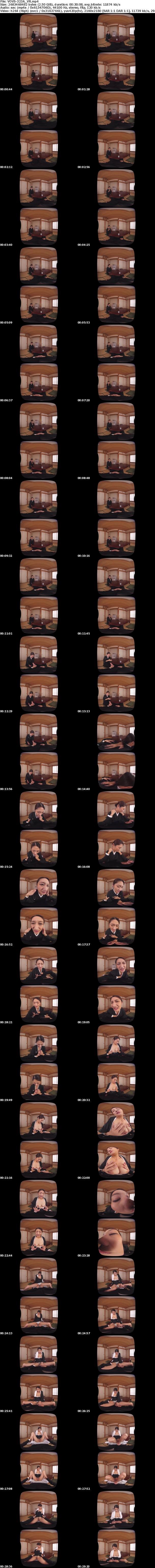 VR/3D VOVS-323 【VR】長尺47分・高画質 滝本エレナ 許して、アナタ…。背徳の未亡人