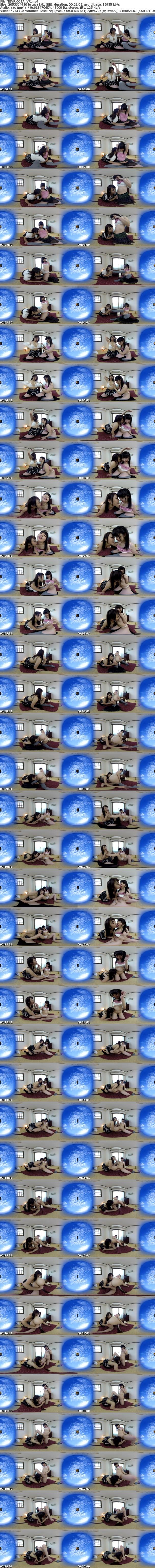 VR/3D TBVR-001 濃厚バーチャルレズビアン3本立て!着エロアイドル渚野洋子AVデビュー! ねっとりベロチュー、双頭ディルドで連続絶頂!!