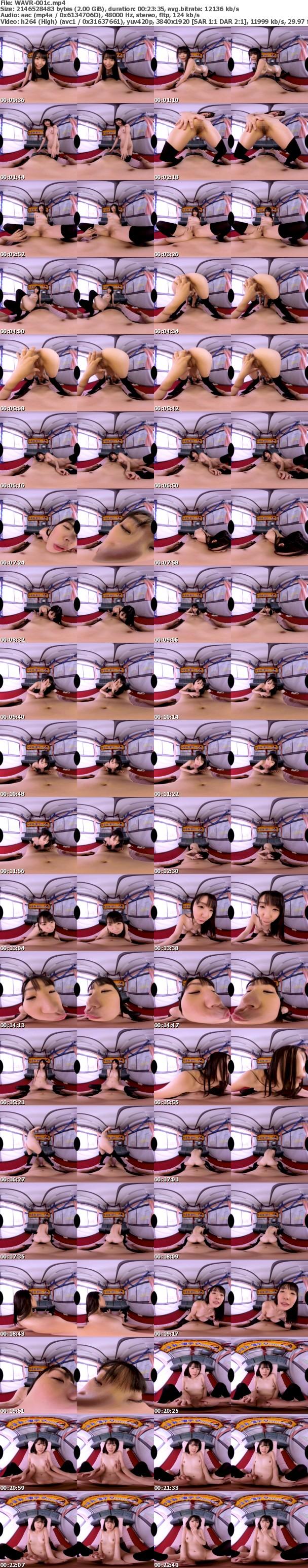 VR/3D [WAVR-001] 【VR】素人ファン体験VR つぼみの凄テクを我慢できれば生★中出しSEX! つぼみ