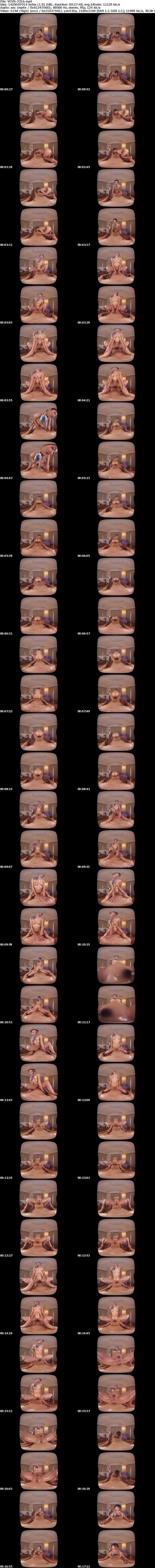 VR/3D [VOVS-331] 【VR】長尺41分・高画質 オイルエステ ベテランの魅せる極上テクニック 滝本エレナ