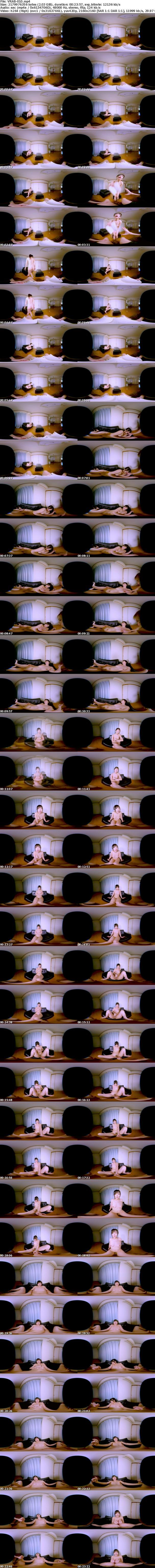 VR/3D [VRAB-010] 【VR】僕の童貞を奪った僕のお姉ちゃんは可愛いのにいつも全裸でとってもH! 大槻ひびき