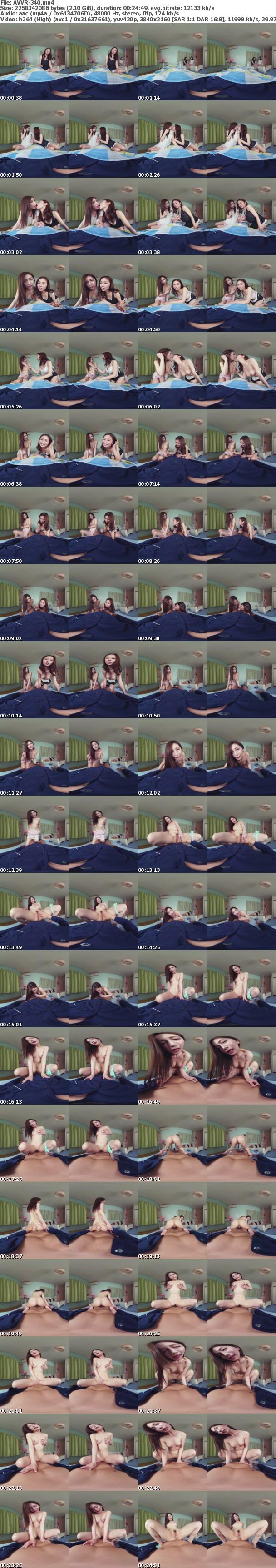 VR/3D [AVVR-340] 【VR】嫁の寝てる間に…こっそりネトラレ不倫中出しSEX 佐々木あき 共演 前田可奈子