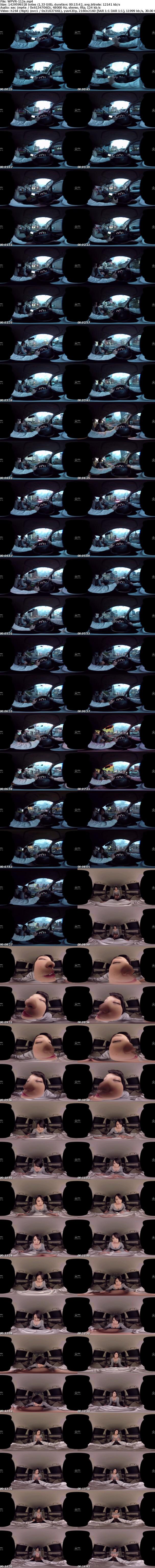 VR/3D [WPVR-112] 【VR】誘惑ビッチハイカー ひなた澪
