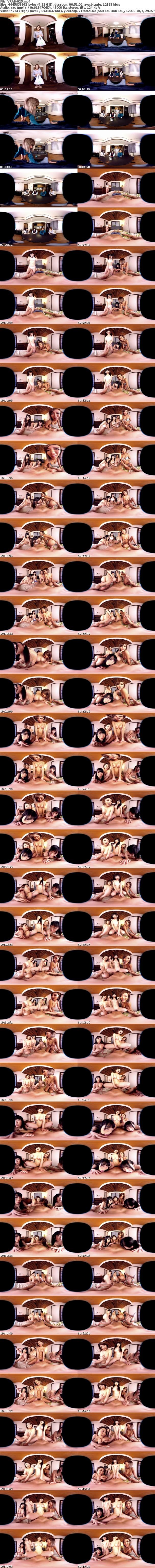 VR/3D [VRAB-025] 【VR】アダルトエクスポで話題の新作!長尺3DVR!淫乱4人姉妹の家に居候したらそこは花園天国だった