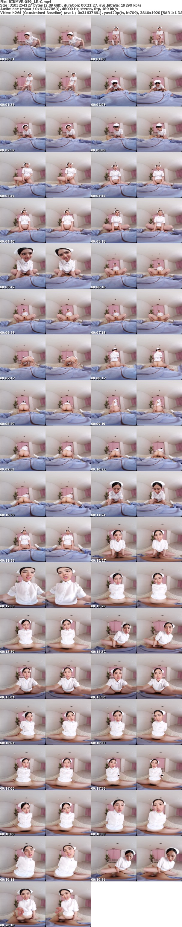 (VR) BIKMVR-059 【4K匠】献身的医療看護VR 手コキ 口内射精処理 生性交補助付き 担当看護士 川崎亜里沙さん