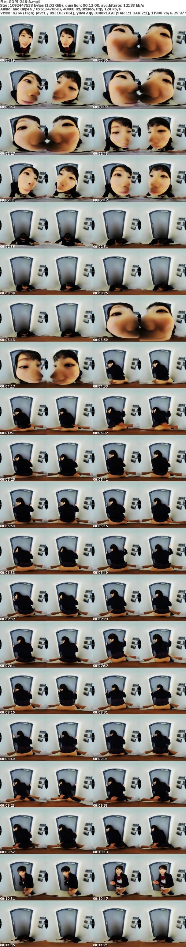 (VR) GOPJ-248 劇的高画質 水樹璃子【3発射】 制服美少女!玄関開けたらキス~即尺フェラ~即挿入!即射精!中出し×3