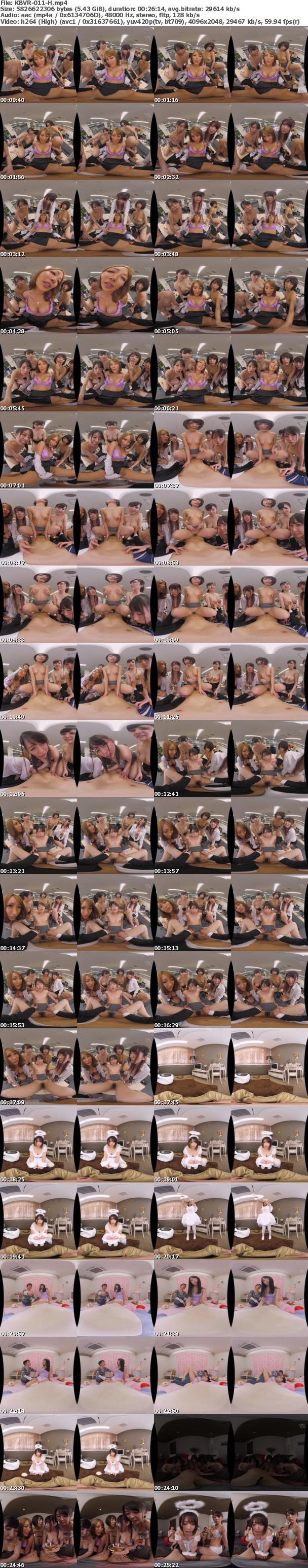 (VR) KBVR-011 ウェルカム新時代!KMPVR史上最大の長尺ストーリー!LIFE!!~とある天使に導かれ…人生丸ごとモテ期になったボクと、10人の美女たち