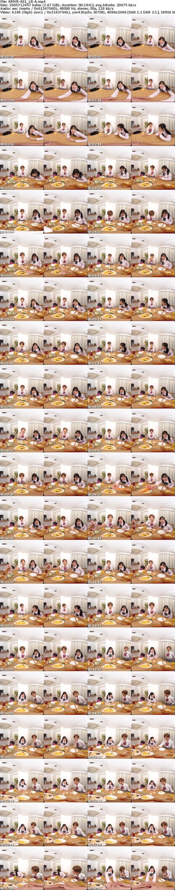 (VR) (LR) (KMVR-631) 妹2人が上京してきて僕の家に泊まりにきた。超可愛い小悪魔妹2人がち●ぽを奪い合う川の字サンドイッチハーレム逆3P!!