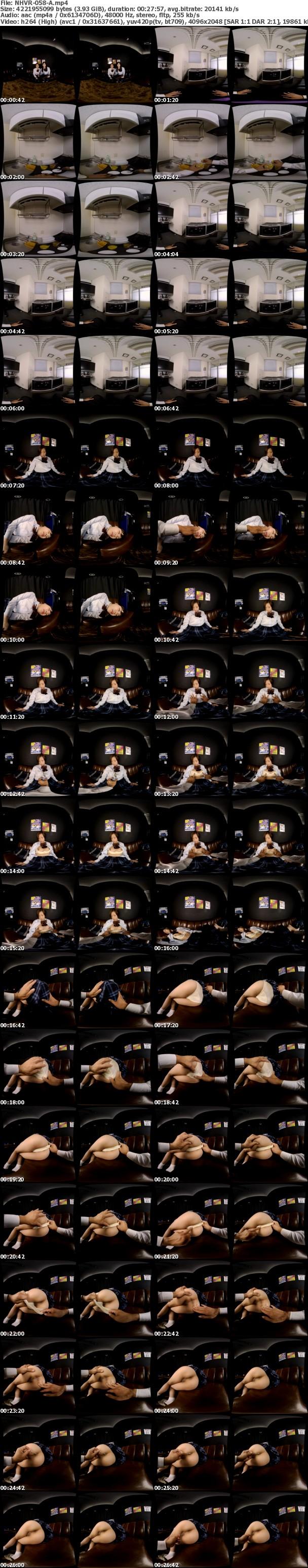 (VR) NHVR-058 眠剤痴漢 VR カラオケBOXで見つけた女子○生2人組を犯りまくれ!