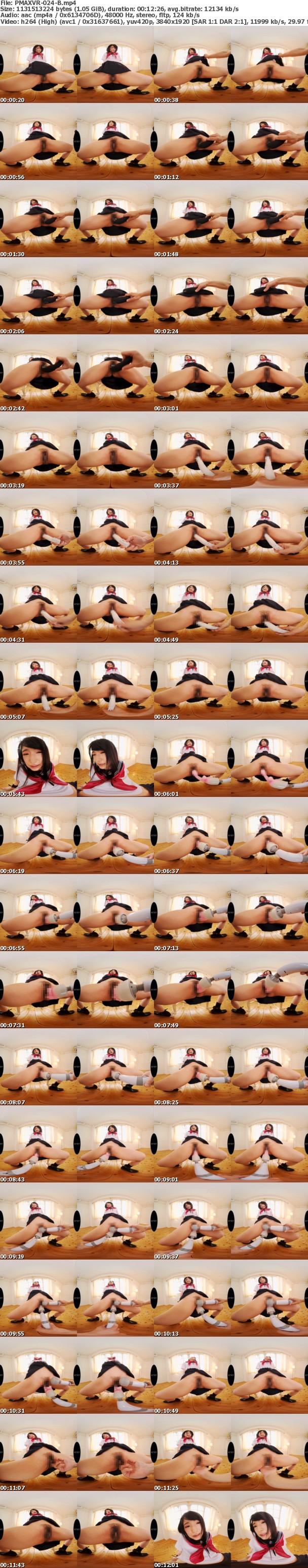 (VR) PMAXVR-024 自宅警備員のボクと制服美少女のいけない記録映像 渚みつき