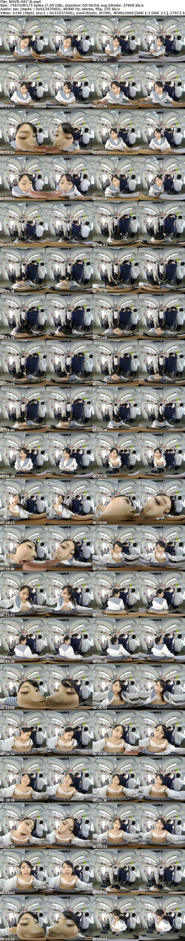 (VR) NHVR-067 唾液ダラダラ接吻痴● VR2 オヤジを虜にするほど密着して舐めまくる痴女子○生