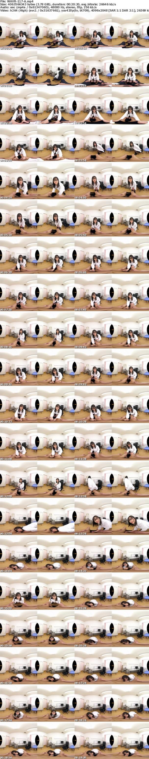 (VR) WAVR-117 ドクターSEX!泌尿器科医・奏音かのんが問診(コミュニケーション)&実践(SEX)でアナタの性のお悩みな~んでも解決VR!! 早漏、包茎、ED、粗チン…!シモの悩みも女性へのケアもこれを見ればスッキリ集中治療体験VR!!