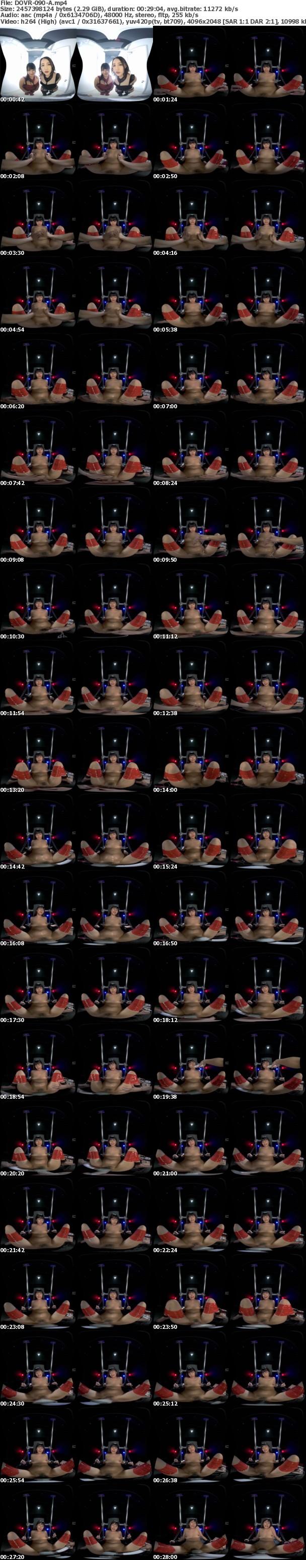(VR) DOVR-090 【まとめ買い特典あり】SとM男 ようこそ!私たちの館へ 私たちがあなたの欲望をかなえます!美咲かんな・如月夏希