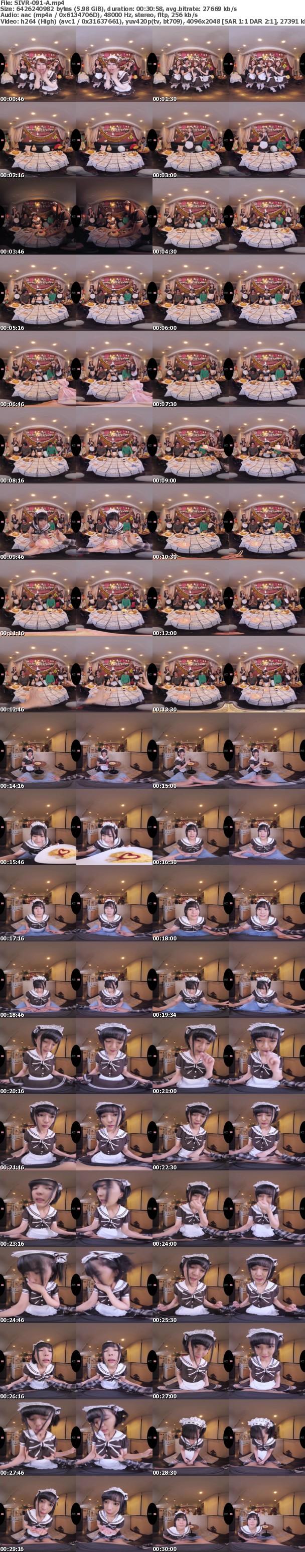 (VR) SIVR-091 生誕祭で盛り上がるメイドカフェの片隅でこっそり大胆にスローピストンで燃え上がり優越感とスリルに酔いしれながらサイレント絶頂SEX 乃木蛍