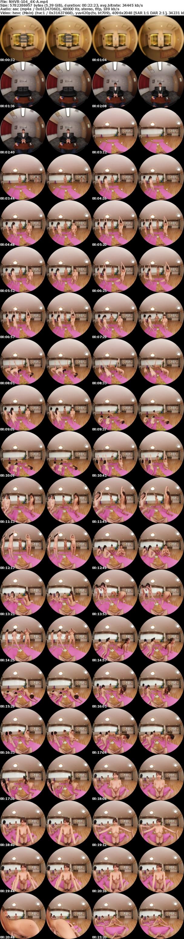 (VR) (4K) NHVR-104 全裸ヨガ教室潜入 VR