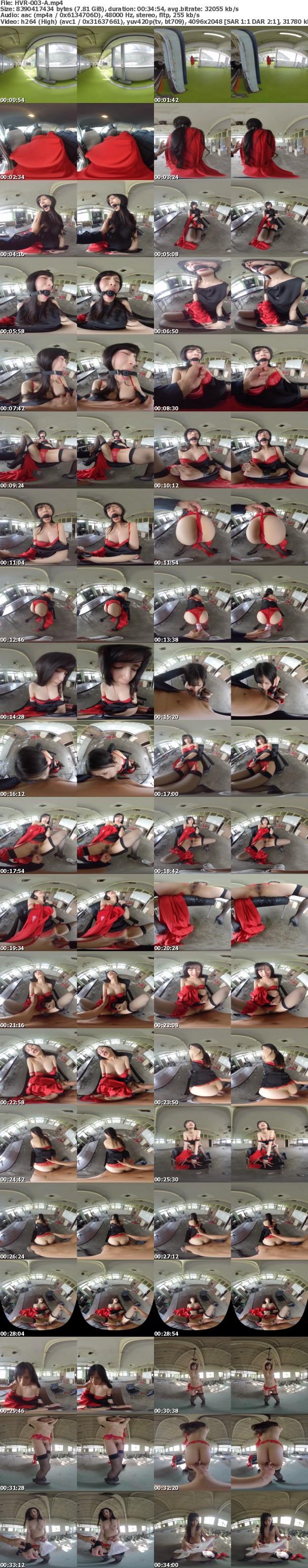 (VR) HVR-003 【VR廃墟レ●プ】トラウマ確定のわいせつ映像。駐車場で拉致⇒口枷手枷で廃墟連れ込み。歪んだ性欲が暴走する孕ませ中出し!!