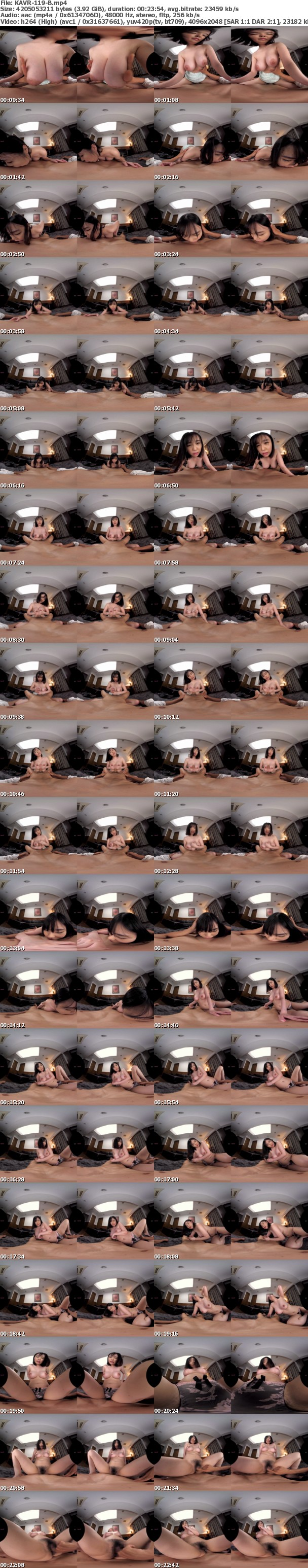 (VR) KAVR-119 Hcupおっぱい×19歳 犯罪級のぴちぴち愛人 「最後にもう一度だけ…」妻に浮気がバレて最後の逢瀬 過去最高にイキ乱れた超濃密中出しラストセックス 露梨あやせ