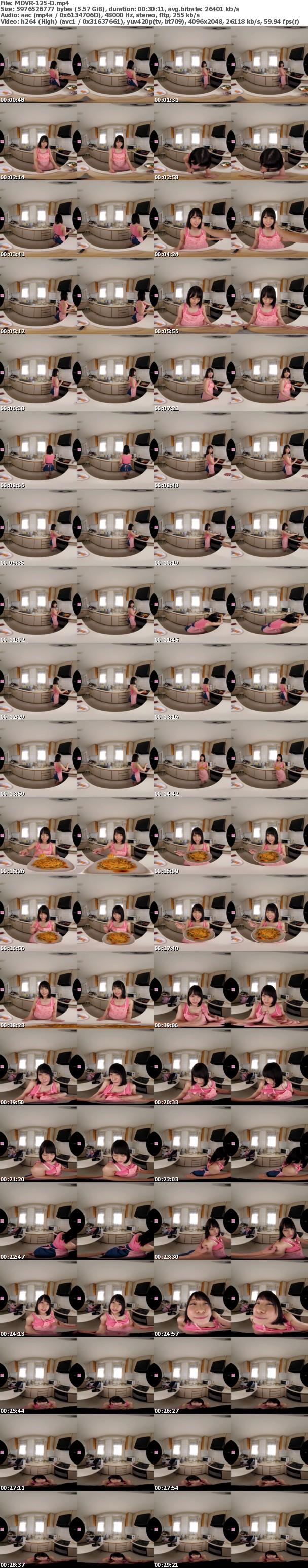 (VR) MDVR-125 八木奈々初VR!! ゆっくりだけどいっぱい!奈々と2人で気持ちよくなろっ!!170分2SEX高画質SPECIAL!!