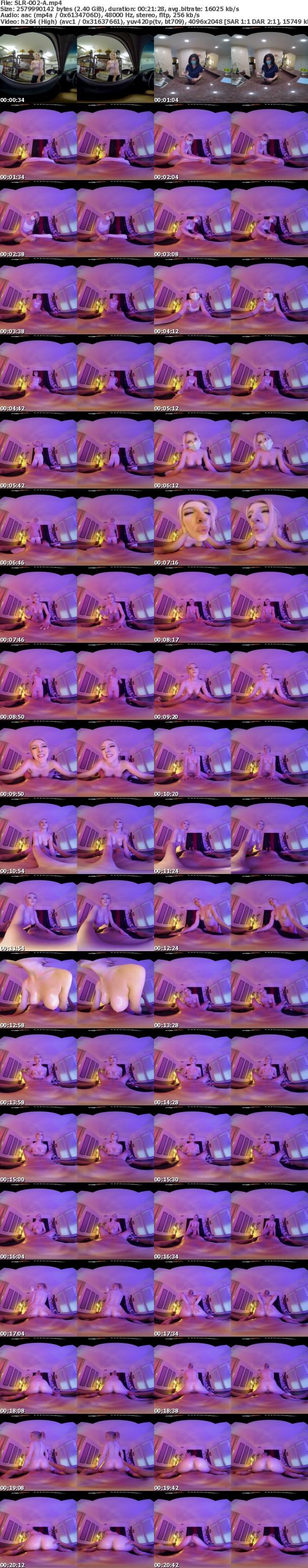 (VR) SLR-002 もしもあの女優がメンズエステで誘ってきたら…M男モード全開で痴女プレイ楽しんでやる! メロディー・雛・マークス