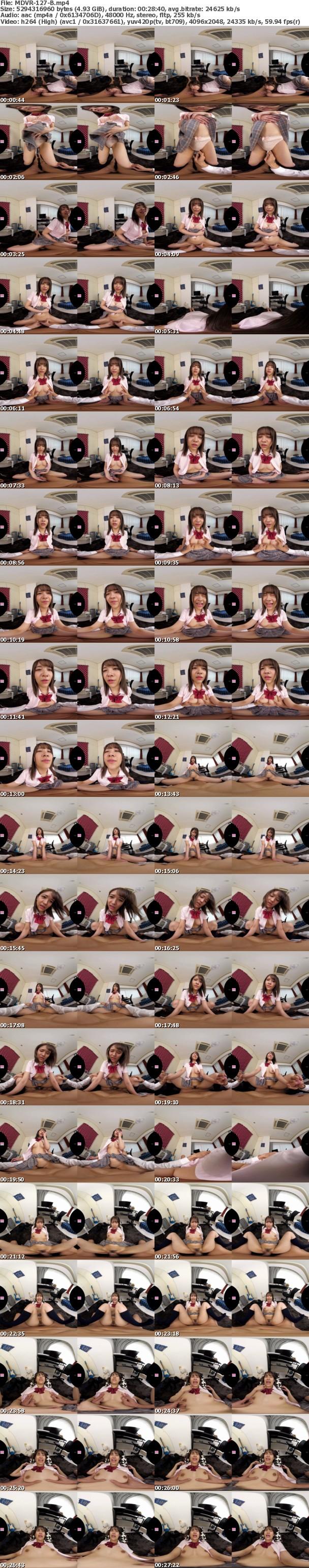 (VR) MDVR-127 南乃そらの制服!パンチラ!!全力誘惑!!! 「キミに初めていっぱいあげちゃう!」幼なじみとの胸キュンイチャラブVR!!
