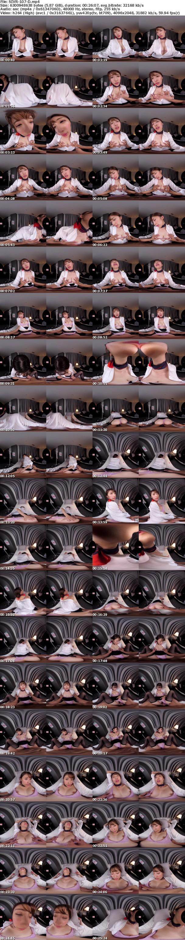 (VR) SIVR-107 美脚キャビンアテンダントに【パンスト尻コキ】【ハイヒールでチ●ポ踏みつけ】【アナル丸見せくぱぁSEX】下品に痴女られる出張相部屋VR 星宮一花