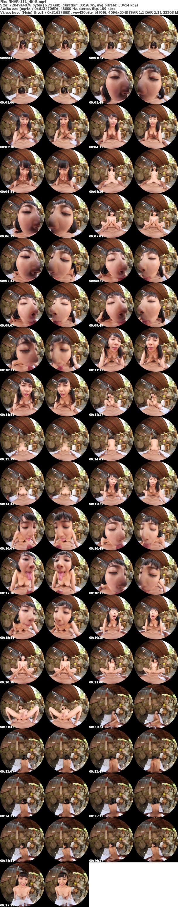 (VR) (4K) NHVR-111 男湯で出会った痴女っこ VR 突然のベロちゅうと抱っこSEXで迫られ我慢できず何度も膣射