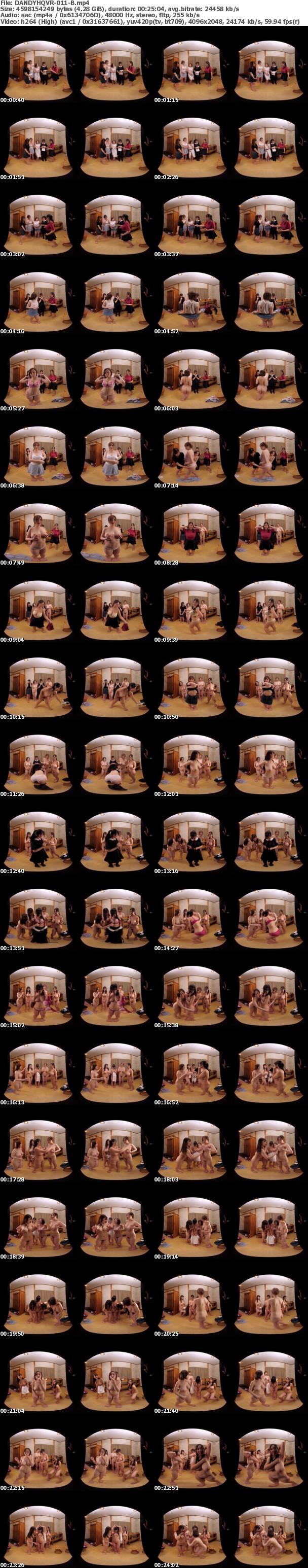 (VR) DANDYHQVR-011 僕んちの温泉宿に巨乳AV女優の田中ねねと彼女の爆乳友達4人がご宿泊!?大ファンの僕は我慢できずに入浴中の裸を覗いていたらバレてしまい…5人のボイン女子大生とまさかの連続生中出しSP