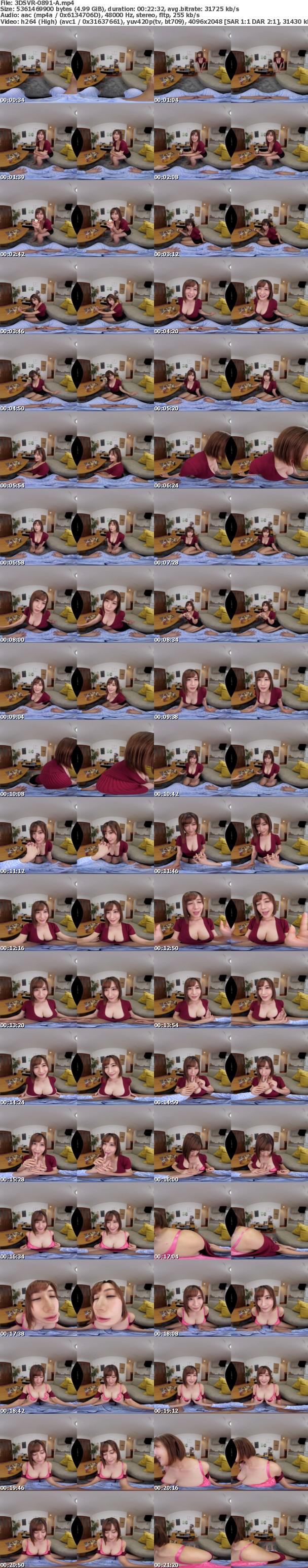 (VR) 3DSVR-0891 ふすまの向うには最愛の妻 酔った義姉に痴女られる 超密着!声我慢押し入れ不倫 藤森里穂