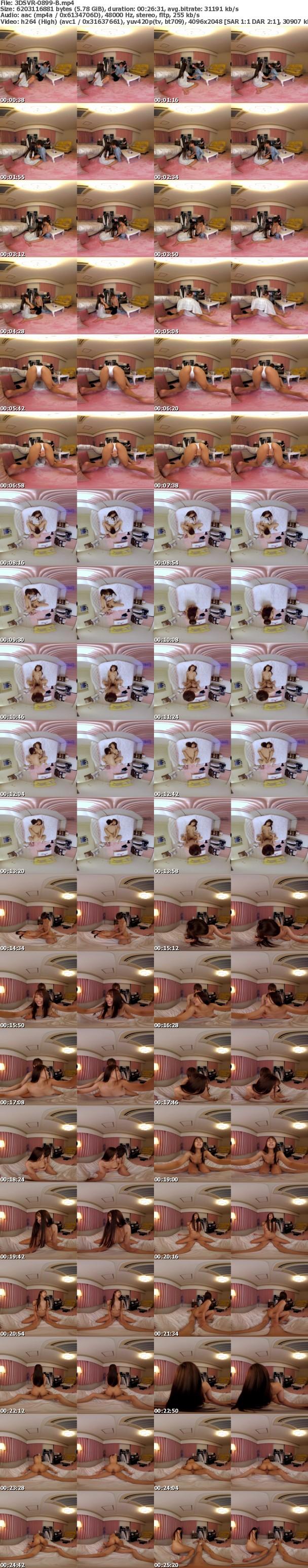 (VR) 3DSVR-0899 女子大生の部屋の壁・天井・床になるVR 無防備な着替え・シャワー・オナニー姿を覗き見!