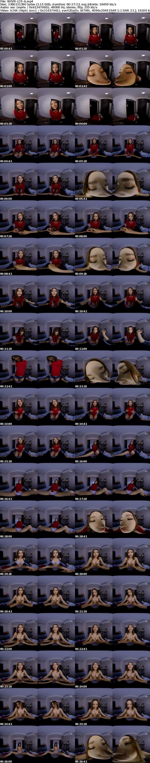 (VR) NHVR-125 催●術で脈なしギャルが俺にデレデレべろ舐め奉仕 キスするたびに好きになる恋愛指示洗脳SEXで完全支配