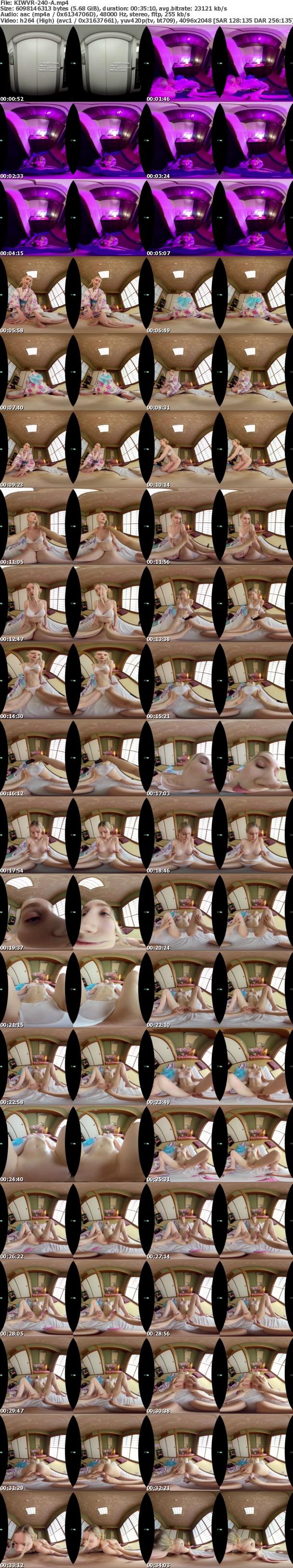 (VR) KIWVR-240 裏風俗で金髪美肌の北欧美人が浴衣姿で媚薬服用おもてなし【即尺ごっくん】からの【生中出し・顔射】金玉袋が枯れるまで極上キメパコSEX リリー・ハート