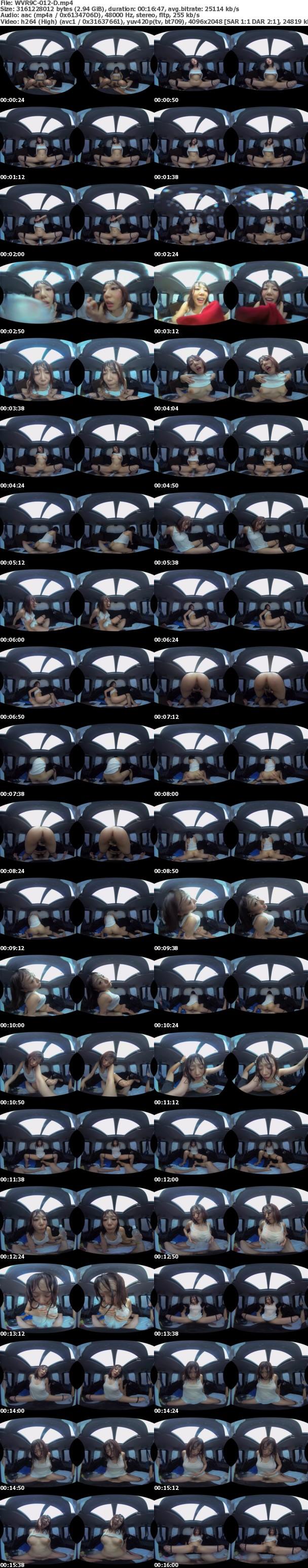 (VR) WVR9C-012 完全リマスター高精細VR 真夏の炎天下の狭い車内で汗だくになって肉欲系カーセックスしまくりました 永久保存版 阿部乃みく 浜崎真緒