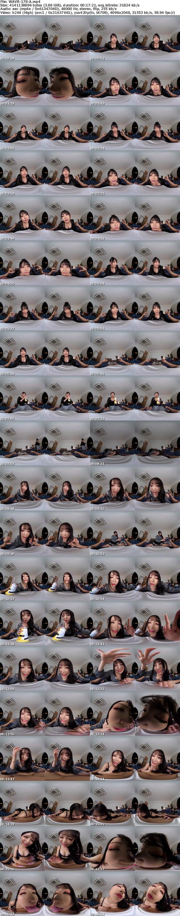 (VR) WAVR-178 【閲覧注意】W地雷系女子とひとつ屋根の下で三角関係になったボク【修羅場VR】