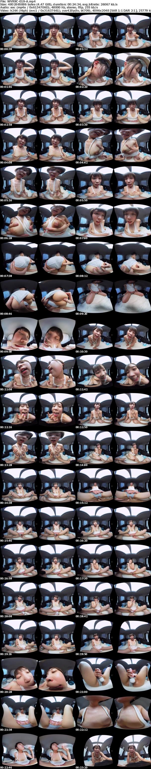 (VR) WVR9C-019 真夏の炎天下の狭い車内で汗だくになって肉食系カーセックスしまくりました 竹田まい 志願の灼熱のライブ編