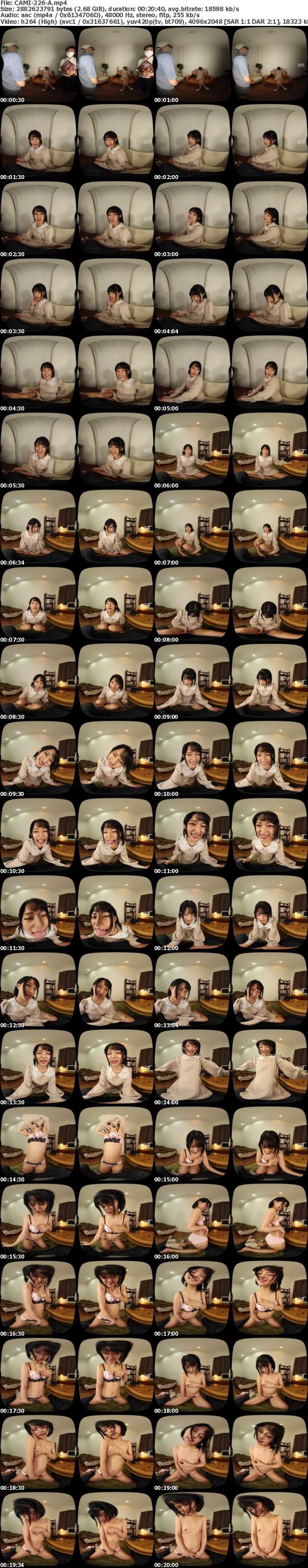 (VR) CAMI-226 出会い喫茶で知り合ったスーパー美女の誘惑円光 渚みつき
